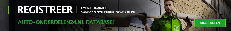 Registreer uw autogarage vandaag nog geheel gratis in de auto-onderdelen24.nl database!