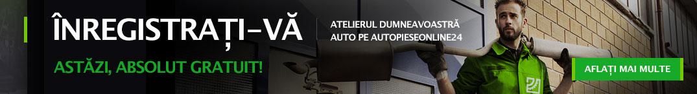 Înregistrați-vă atelierul dumneavoastră auto pe autopieseonline24 astăzi, absolut gratuit!