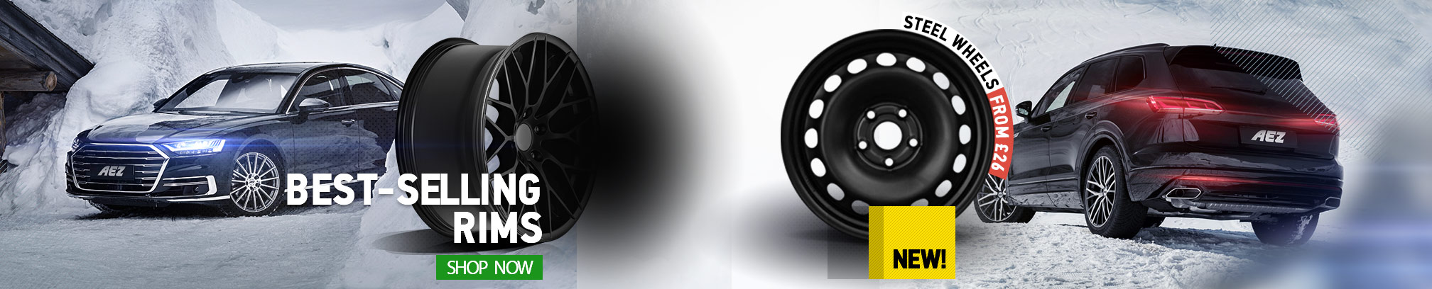 Best-selling rims - Shop now! Steel wheels from £26 | NEW!
