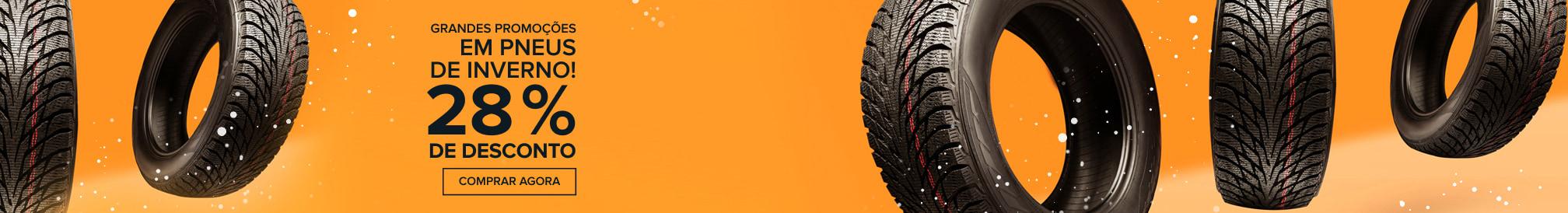 Grandes promoções em pneus de inverno! 28 % DE DESCONTO - Comprar agora!