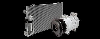 Sistem de aer conditionat pentru SUBARU Forester II (SG) 2.0 X AWD 158 CP (116 KW)