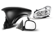 2009 - 2011 Mercedes W212 car parts: Body parts, lights, mirrors