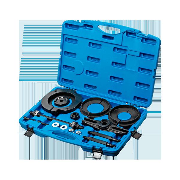 Jogo de ferramentas de montagem, cubo / rolamento da roda
