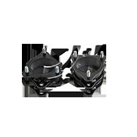 Supporto ammortizzatore MITSUBISHI PAJERO 4 (V8W, 59W) 2013 Anno SM9923 Suspension Mounting Kit, Assale posteriore