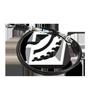 MAPCO Seilzug, Feststellbremse 5650 für AUDI 100 (44, 44Q, C3) 1.8 ab Baujahr 02.1986, 88 PS