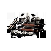 BOSCH Комплект принадлежности спирани челюсти SSANGYONG