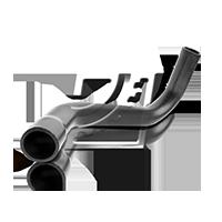Kurbelgehäuseentlüftung VW PASSAT Variant (3B6) 1.9 TDI 130 PS ab 11.2000 VAICO Schlauch, Kurbelgehäuseentlüftung (V10-2800) für