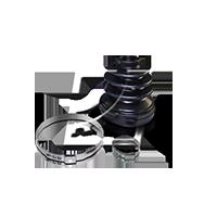 Комплект маншон, полуоска 49-1925 Golf 5 (1K1) 1.9 TDI Г.П. 2008