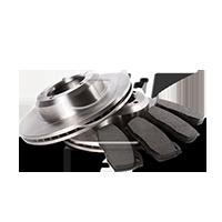 OEM Bremsesæt, skivebremser 3405B0398 fra RIDEX