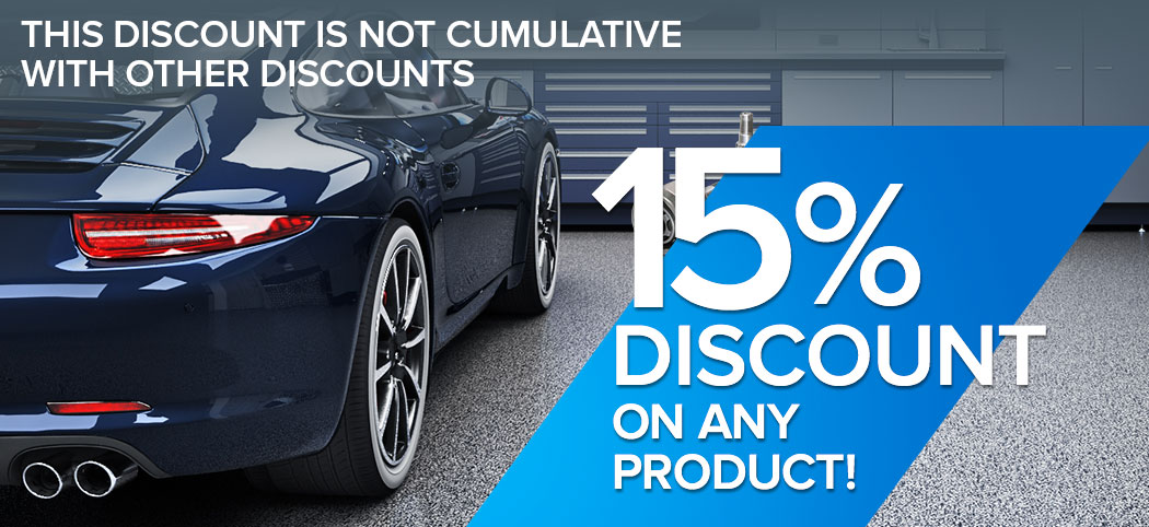 10% discount on any product - This discount is not cumulative with other discounts