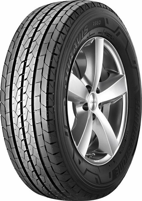 Banden 215 65 R15 Voor VW TRANSPORTER Bridgestone DURAVIS R660 C TL 9731