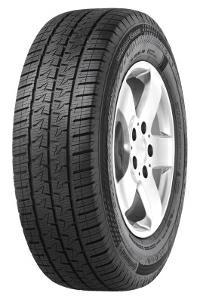 Continental 225/65 R16 light truck tyres VANCONTACT 4SEASON EAN: 4019238009187