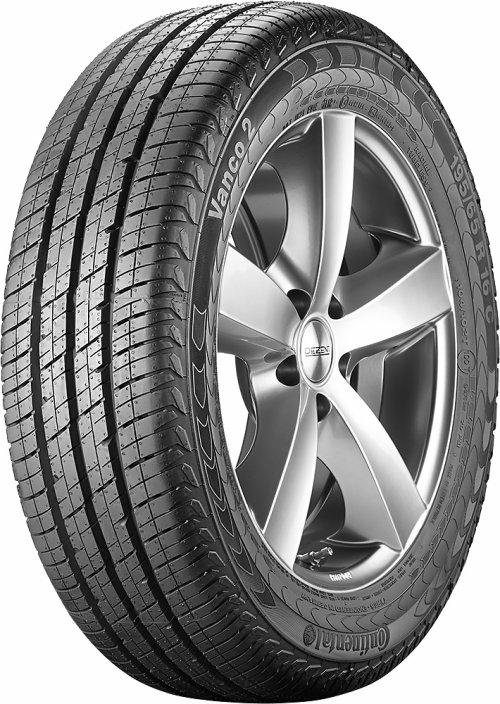 Continental 195/75 R16 light truck tyres VANCO 2 C TL EAN: 4019238372700
