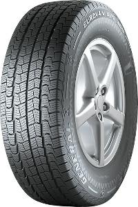 Camiones ligeros General 195/70 R15 Euro Van A/S 365 Neumáticos para todas las estaciones 4032344000121