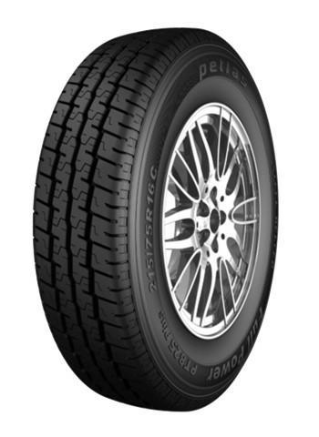 Lehké nákladní automobily Petlas 215/75 R16 PT825+8PR Letní pneumatiky 8680830018943