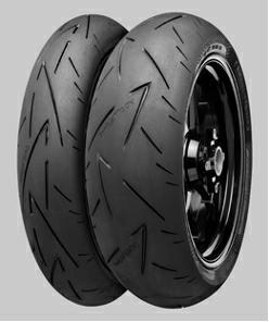 Continental 190/55 ZR17 Reifen für Motorräder ContiSportAttack 2 EAN: 4019238377804