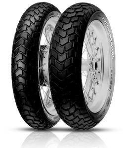 19 tommer mc dæk MT60 fra Pirelli MPN: 0995500