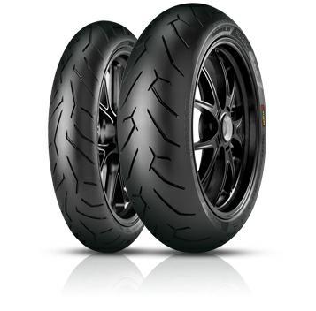 Pirelli Diablo Rosso II 120/60 ZR17 gomme estivi per moto 8019227207002