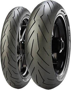 Pirelli Diablo Rosso III 180/55 ZR17 gomme estivi per moto 8019227263558