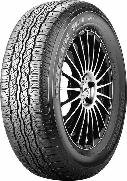 Bridgestone 225/65 R17 all terrain tyres DUELER H/T 687 EAN: 3286347923913