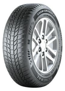 General 255/50 R19 SUV Reifen Snow Grabber + EAN: 4032344795249