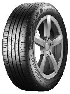 Henkilöautojen renkaisiin Continental 205/55 R17 EcoContact 6 Kesärenkaat 4019238015171