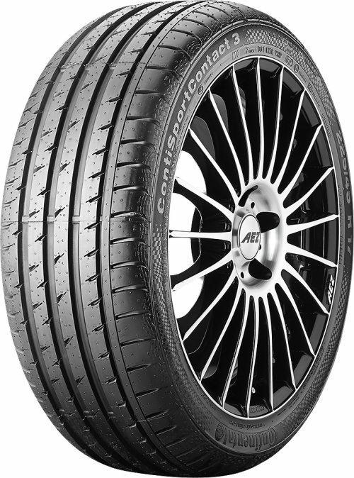 Summer tyres Continental ContiSportContact 3 EAN: 4019238374599
