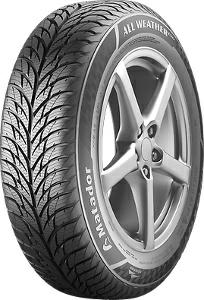 Los neumáticos para los coches de turismo Matador 185/65 R14 MP 62 All Weather EV Neumáticos para todas las estaciones 4050496000363