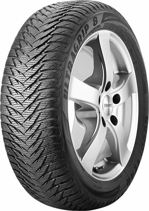 Henkilöautojen renkaisiin Goodyear 195/65 R15 UltraGrip 8 Talvirenkaat 5452001082854