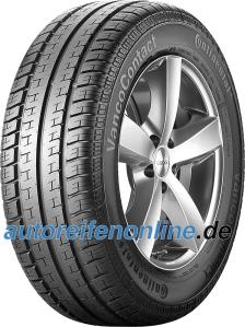 Van summer tyres Continental VancoContact EAN: 4019238195583
