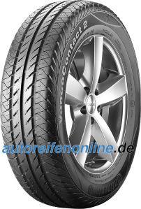 Continental 185/60 R15 light truck tyres VancoContact 2 EAN: 4019238490589