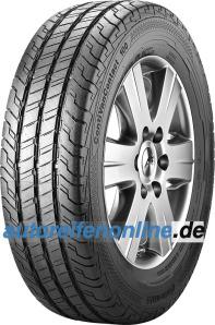 Continental 215/75 R16 light truck tyres VanContact 100 EAN: 4019238597004