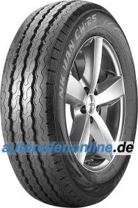 CW-25 Nankang pneus de verão para comerciais ligeiros 14 polegadas MPN: EB016