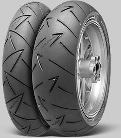 Continental 180/55 ZR17 Reifen für Motorräder ContiRoadAttack 2 EAN: 4019238434965