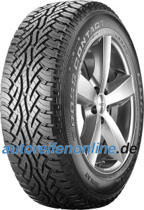Continental 225/70 R15 all terrain tyres ContiCrossContact AT EAN: 4019238422580