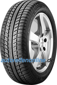 Primacy Alpin PA3 Michelin tyres