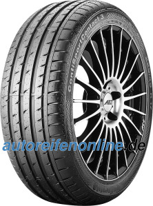 Continental 205/50 R17 car tyres ContiSportContact 3 EAN: 4019238418224